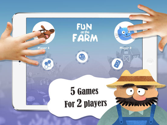 Fun on the Farm: 5 2-player board games for kids