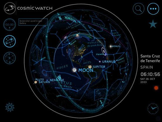 Screenshot #2 for Cosmic-Watch