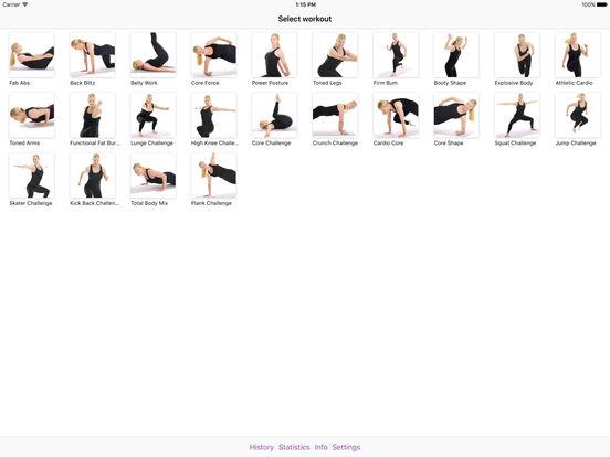 PoWorkout iPad Screenshot 1