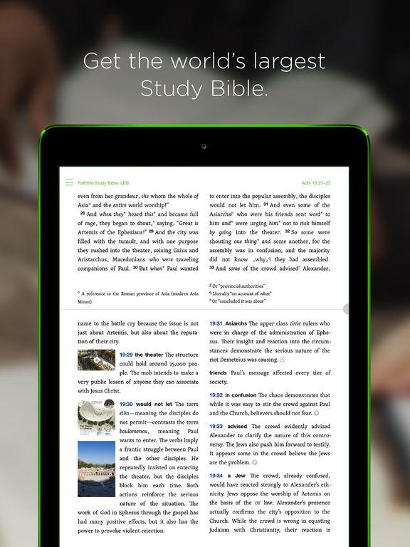 Faithlife Study Bible screenshot