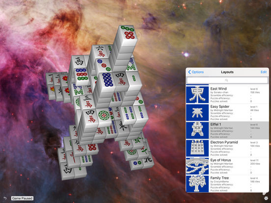Moonlight Mahjong Lite iPad Screenshot 3