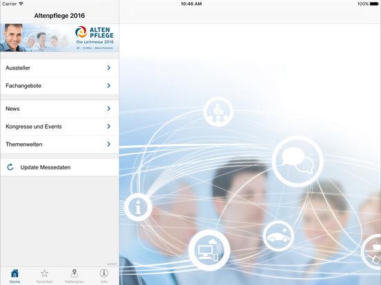 Altenpflege 2011 iPad Screenshot 1