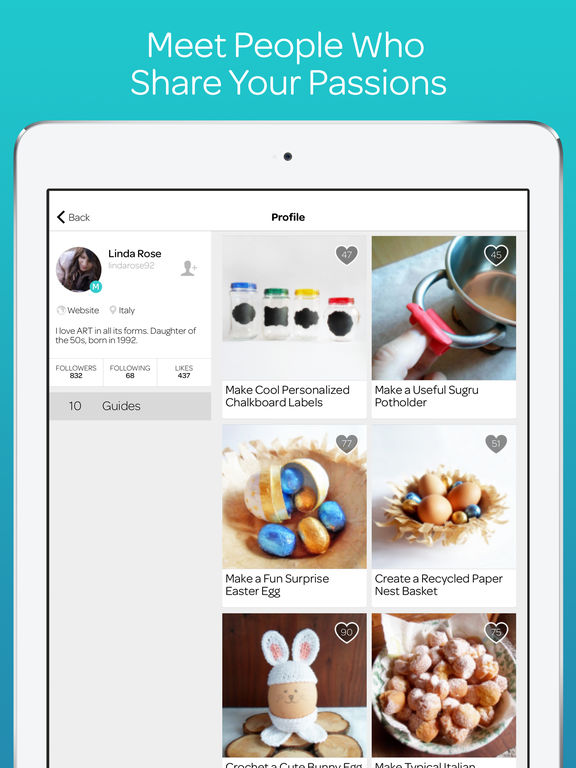 Guidecentral: Crafts Projects, DIY Tutorials & HowTo Ideas screenshot