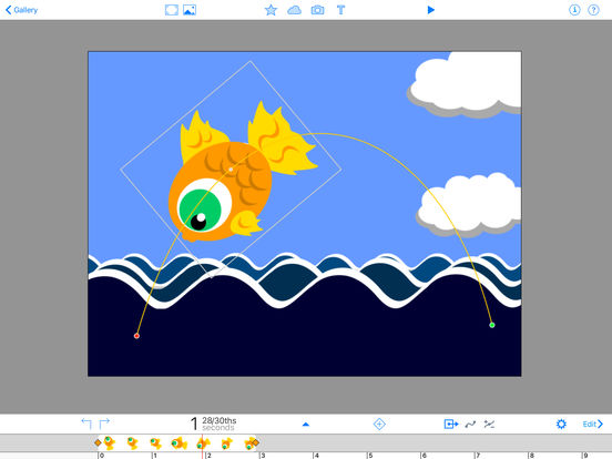DoInk Animation & Drawing iPad Screenshot 2