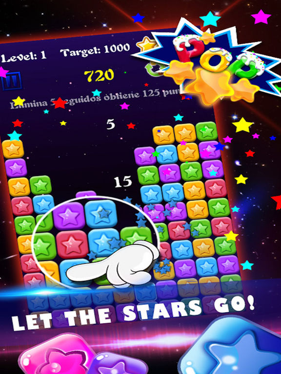 Eliminate Stars - Pop Legend:A Classical Time Killer Casual Game Screenshots