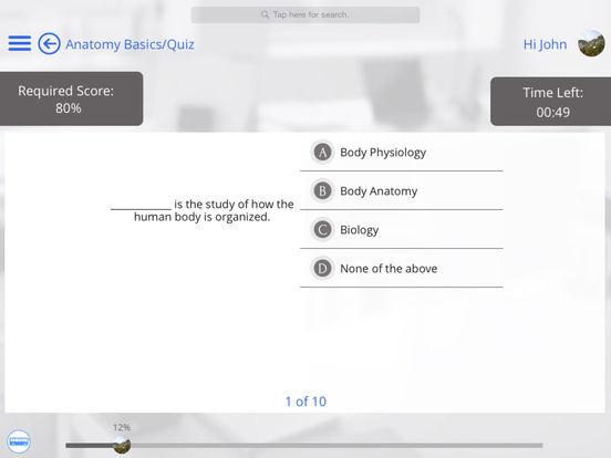 Body Anatomy for iPad iPad Screenshot 4