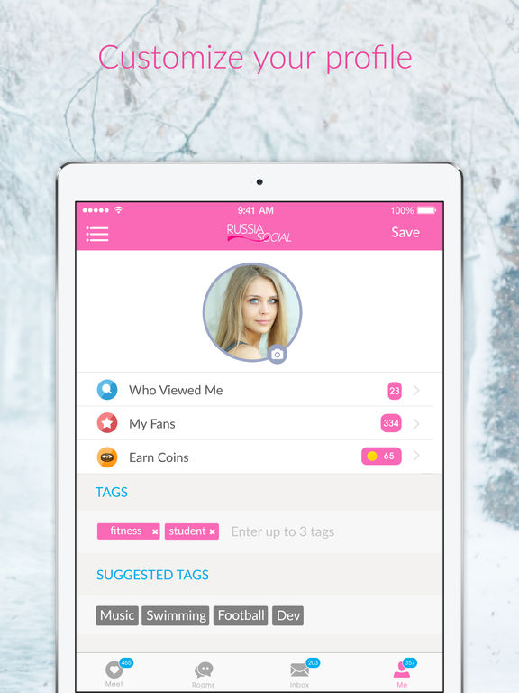 Russian dating app