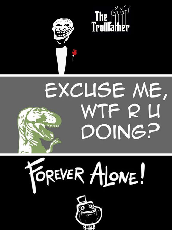 Funny Meme Wallpapers For Iphone : App shopper funny meme wallpapers stickers and emoji