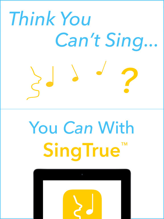 SingTrue - Discover your musical voice and learn to sing in tune to become a pitch perfect singer screenshot