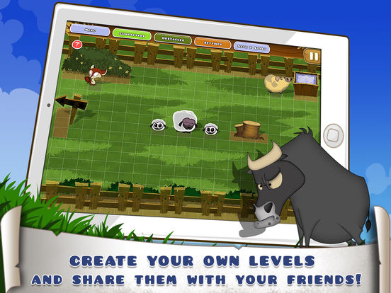 Hay Ewe - A sheep's farm puzzle adventure Screenshots