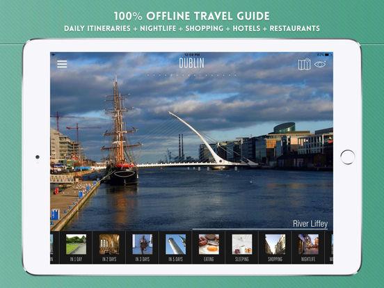 Dublin Travel Offline iPad Screenshot 1