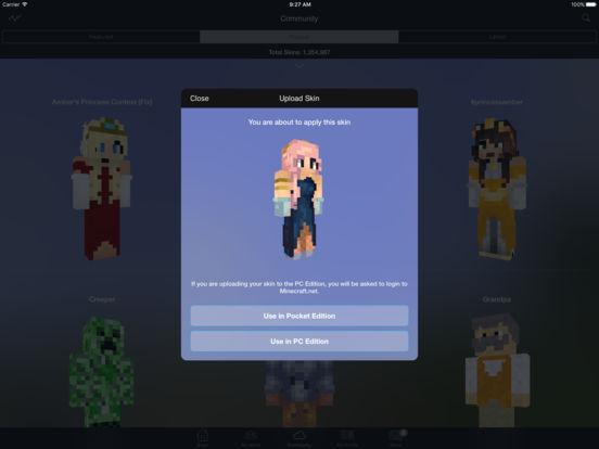 Minecraft: Skin Studio Screenshots