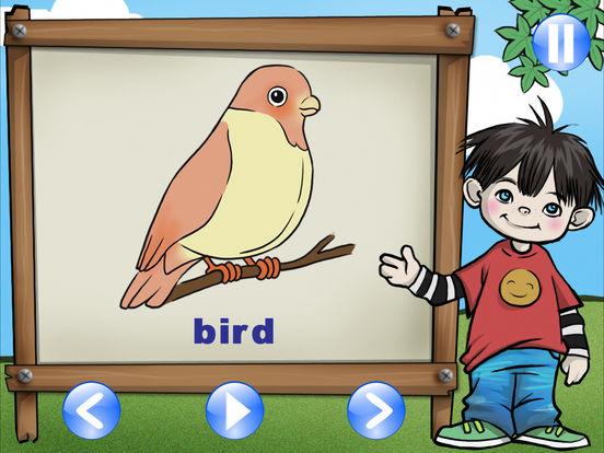 First App for Kid HD - English Indonesia iPad Screenshot 3