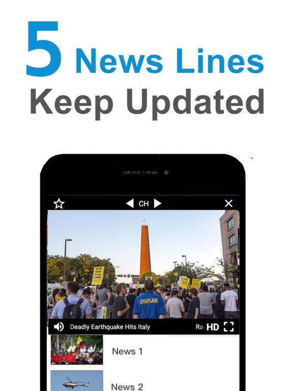 FREE TV App: Live News, TV Shows, Movies Screenshots