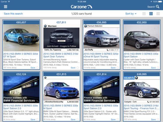 Carzone.ie iPad Screenshot 3