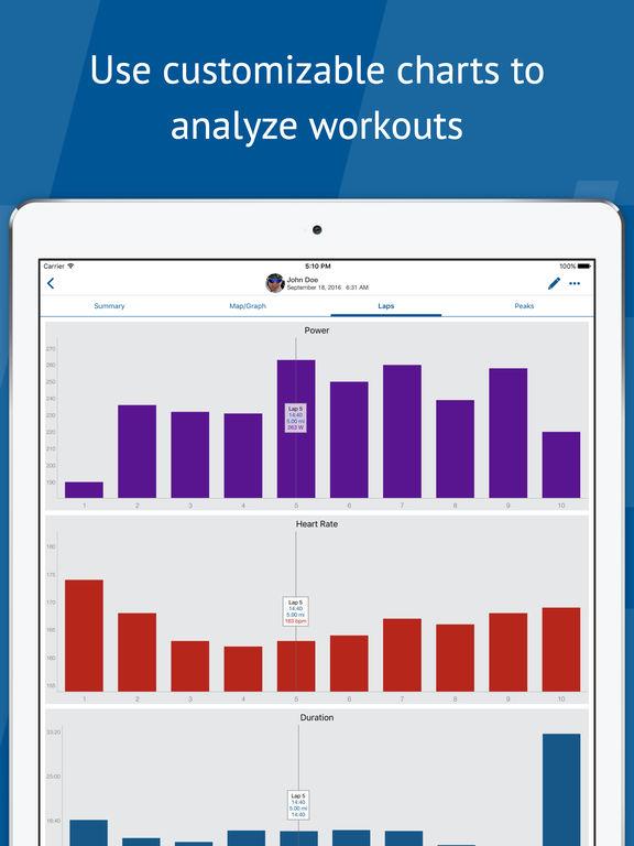 TrainingPeaks -Triathlon, Cycling, and Running App screenshot