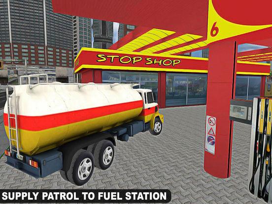 Drive City Oil Transporter Truck Pro screenshot 6