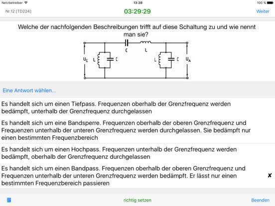 Amateurfunk - Klasse A iPad Screenshot 1