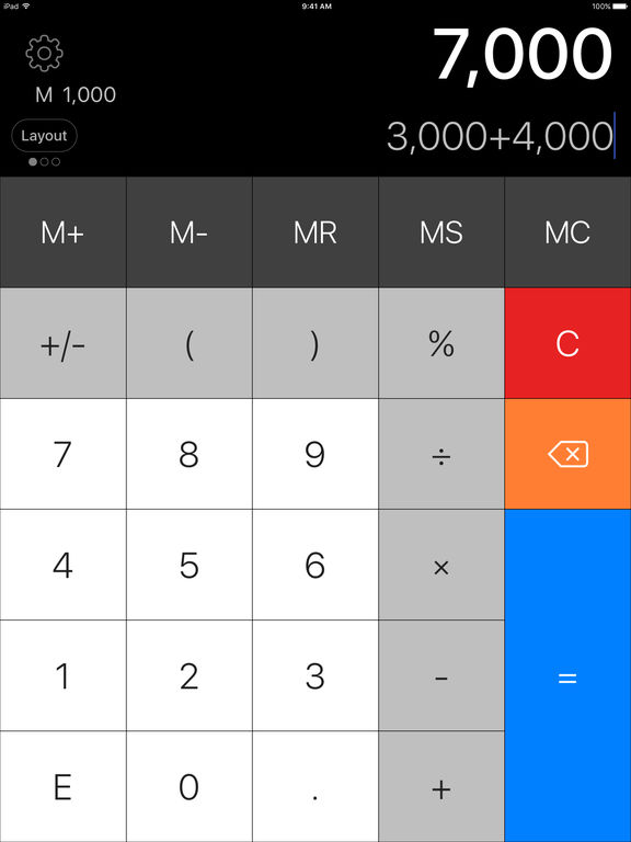 Calculator Pro Elite - The Best Basic & Scientific Calculator screenshot