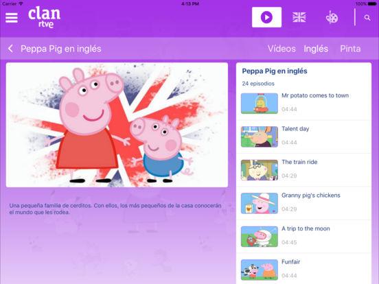 RTVE Clan iPad Screenshot 4