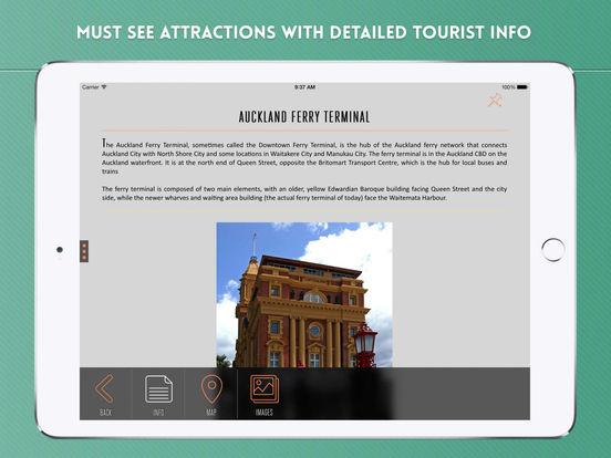 Auckland Travel Guide iPad Screenshot 3