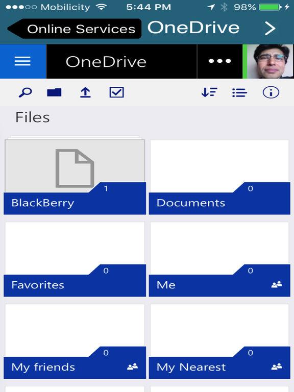 Clouds - Mails for Google,Dropbox,Box,Onedrive Screenshots