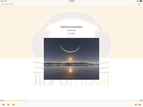Français. Poèmes Protestantes iPad Screenshot 1