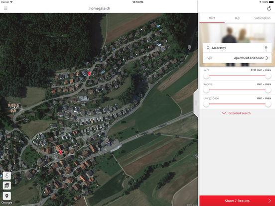 homegate.ch iPad Screenshot 3