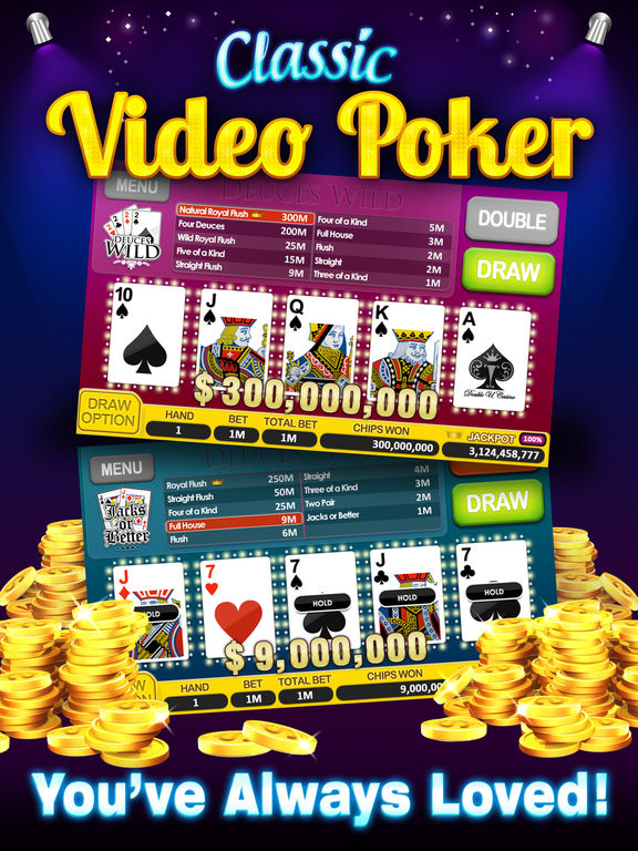 DoubleU Casino - Free Slots, Video Poker and More! screenshot