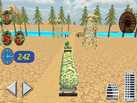 Off Road Army Oil Truck Drive screenshot 8