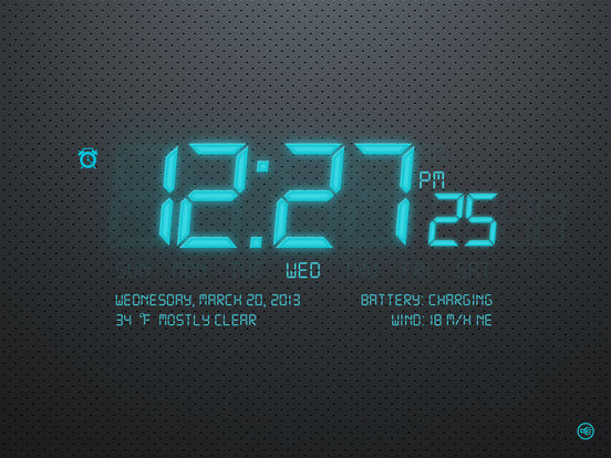 Alarm Clock 4 Free iPad Screenshot 2