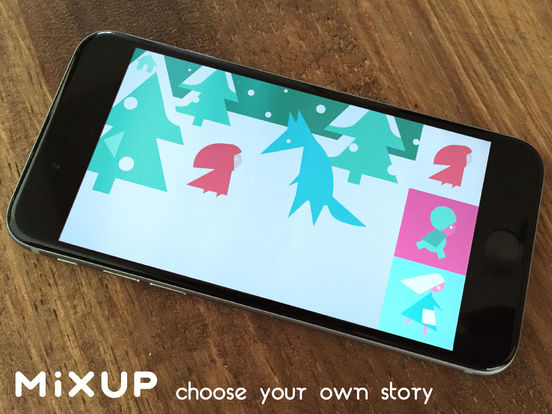 MIXUP picture book Screenshots