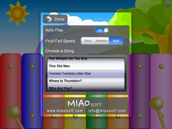 Kids Fruit Xylophone Screenshots