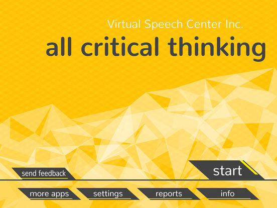 critical thinking includes the following Critical thinking in college writing: from the personal to the academic includes bibliographical references and index isbn 978-1-60235-184-4 argument and forces a reaction, a good criterion for critical thinking.