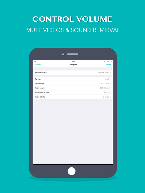 Mute Videos - Remove the audio from your video Screenshots