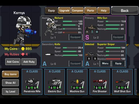 LOSTGUNS - 2D Online Shooting screenshot 7
