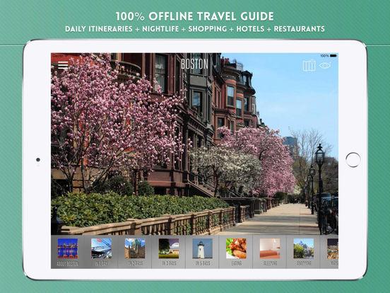 Boston: Travel Guide iPad Screenshot 1