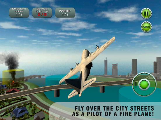 Airplane Emergency Firefighter Simulator Full screenshot 5