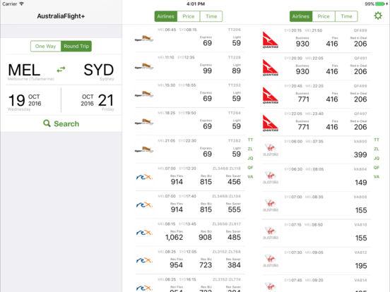 Australia Flight FREE iPad Screenshot 1