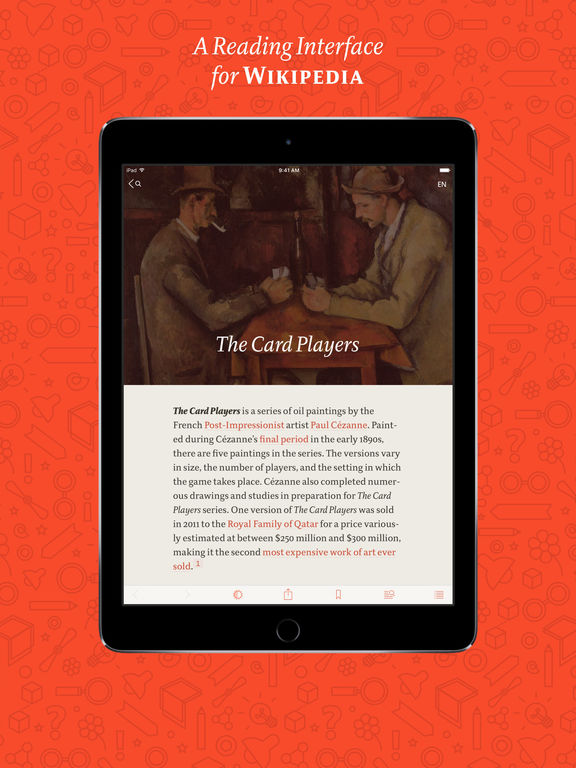 Viki · A Nice Reader for Wikipedia