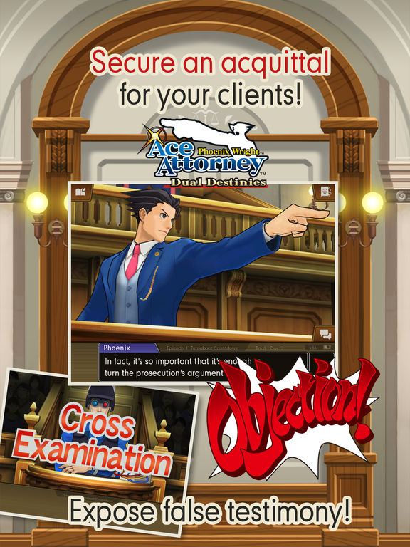 Phoenix Wright: Ace Attorney – Dual Destinies Screenshots