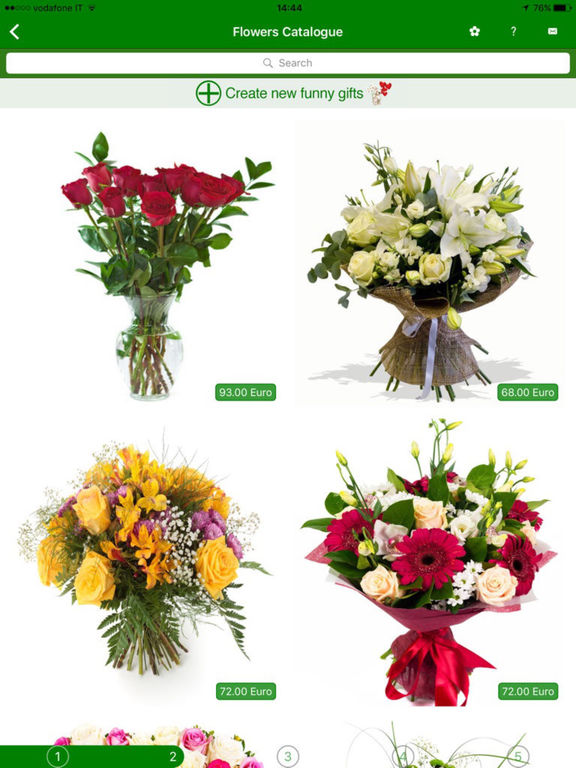 eFloristApp: Send Fresh Flowers and Virtual Gifts from any iOS Device Image