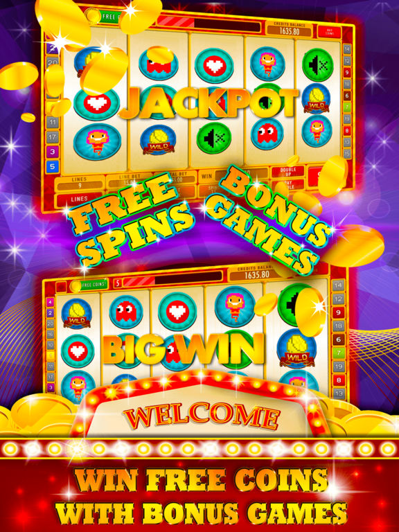 8bit Slot Machine: Play artificial gambling games-ipad-1