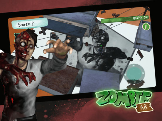 Zombie Augmented Reality (AR) - New Multiplayer Virtual Reality Game Image