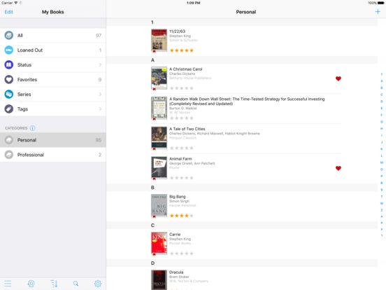 BookBuddy Lite iPad Screenshot 1