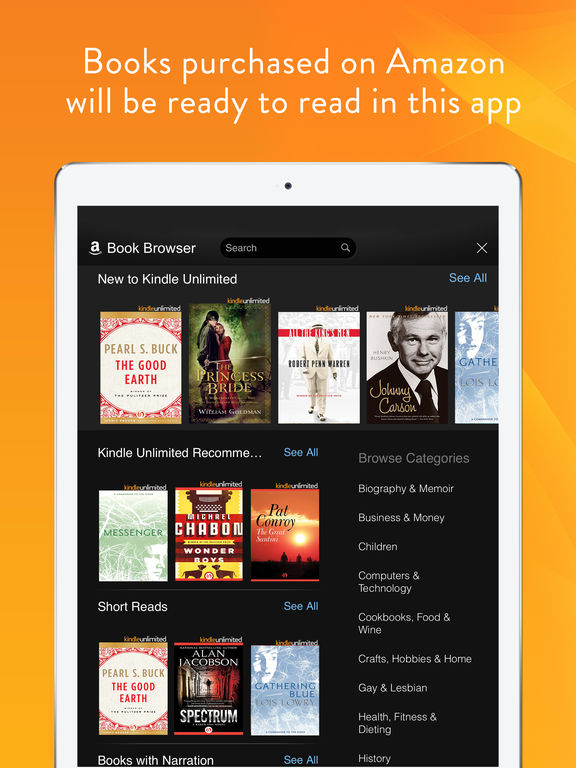 a way to study kindle books on line