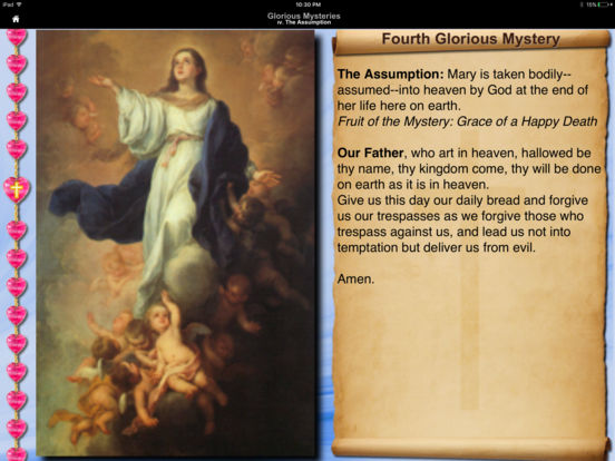 iRosary (Catholic Rosary) iPad Screenshot 2
