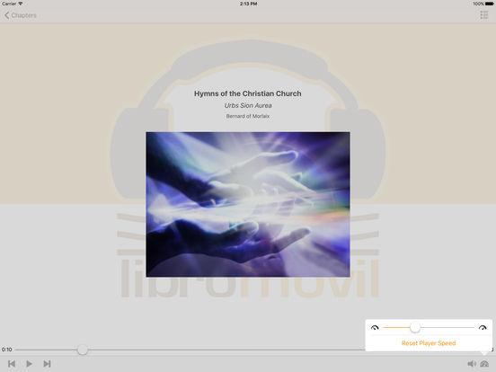 Hymns of the Christian Church - AudioBook iPad Screenshot 1