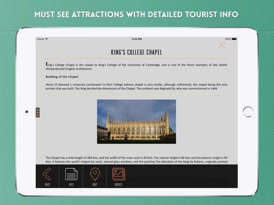 Cambridge Travel Guide iPad Screenshot 3