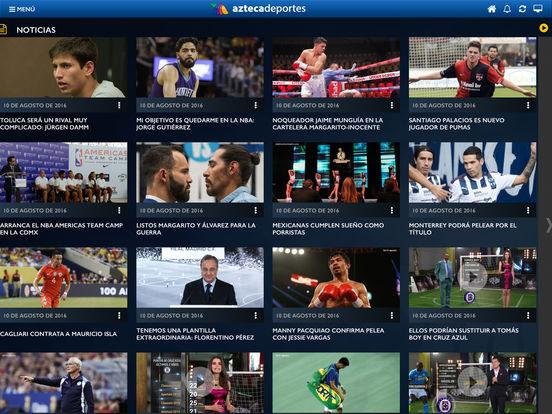 Azteca Deportes iPad Screenshot 4